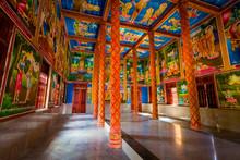 Beautiful Khmer Temple In Meko...