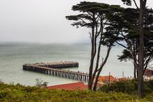 Torpedo Wharf, Pacific Ocean, ...