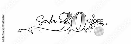 Cuadros en Lienzo 30% OFF Sale Discount Banner
