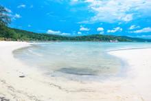 The Beautiful Tropical Beach O...