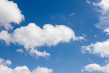 Blue Sky With Cumulonimbus Clo...