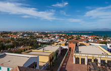 Town Of Corralejo, Fuerteventu...