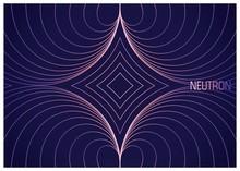 Neutron. Colorful Wavy Lines C...