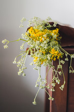 Wild Flowers In A Reusable, Pa...