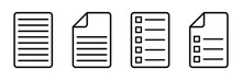Document Symbol Set. Document ...