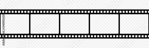 Film strip icon Fototapet