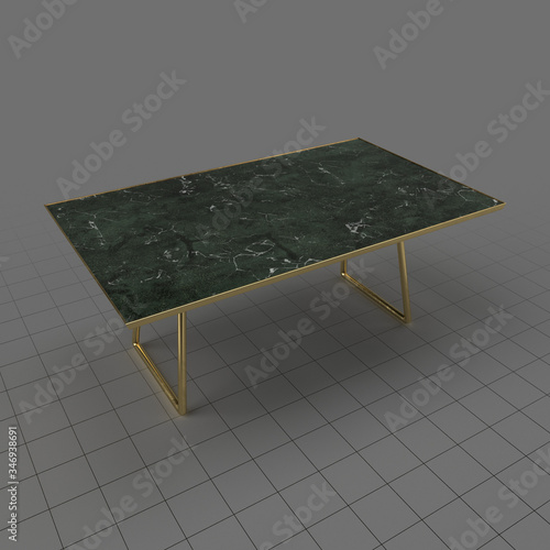 Fototapeta Modern coffee table obraz