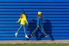 Two Teenage Girls Wearing Matc...