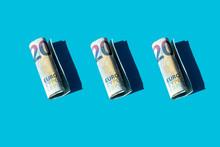 Twenty Euro Rolled Banknotes O...