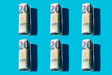 Twenty Euro Rolled Banknotes P...