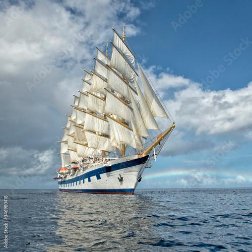 Sailing ship regatta. Yachting. Sailing © Alvov