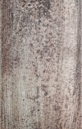 Cuadros en Lienzo Steel textured metal sheet background with rust with traces of sanding sandpaper