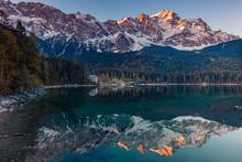 Zugspitze, Eibsee, Garmisch-Pa...