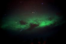 Aurora Looks Like Crab Nebula