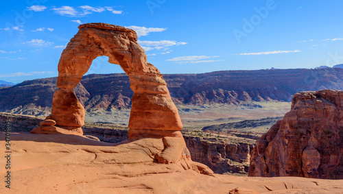 Delicate Arch in Arches National Park, Utah, USA Canvas Print