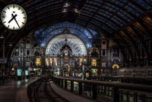 Interior Of Antwerp Central St...