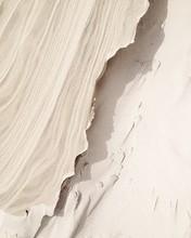 Full Frame Shot Of Sand Sculpture At Beach