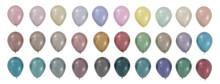 Balloons Pastel Color Palettes...