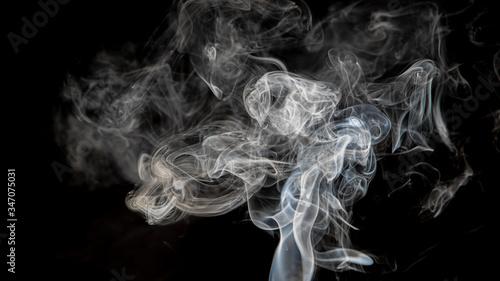 Cuadros en Lienzo Smoke in dark background