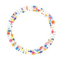 Circle Of Colorful Circles