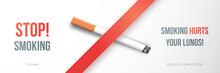 World No Tobacco Day. Long Ban...