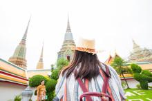 Beautiful Asian Tourist Women ...