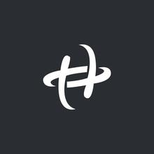 H Logo Design. Letter Logo Des...