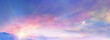 Leinwandbild Motiv 朝焼けの雲海