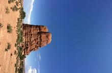Idyllic Shot Of Balanced Rock ...