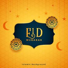 Traditional Eid Mubarak Festiv...