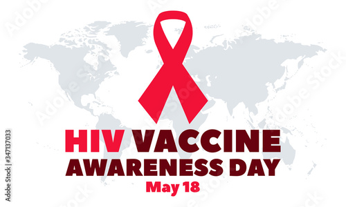 HIV Vaccine Awareness Day, is observed annually on May 18 Canvas Print