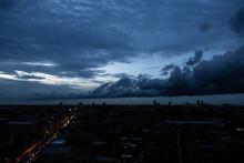 Dark Dramatic Sky At Night Tim...