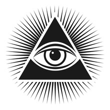 Masonic Symbol The All-seeing ...