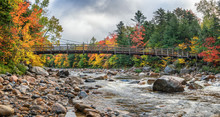 Autumn In The Mountains Of New Hampshire White Mountains On The Kancamagus Highway