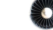 Jet Engine Of An Airplane. Tur...