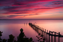Sunrise Over The Indian River,...