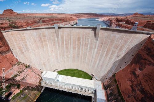 фотография Glen canyon dam on the Colorado river