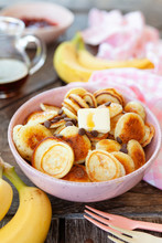 Pancake Cereal, Mini Pfannkuchen