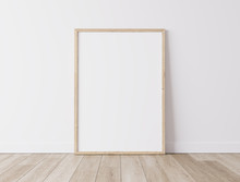 Realistic Wooden Blank Frame,s...