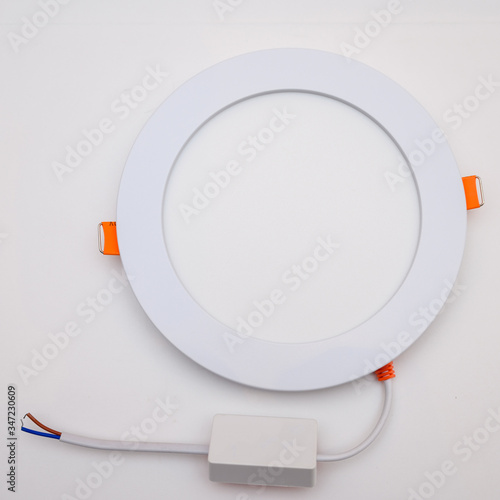 Photo Photo of a new electric LED home lamp