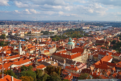 View of Prague from the St Wallpaper Mural