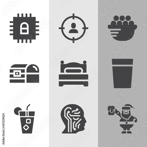 Photo Simple collection of absorb related filled icons