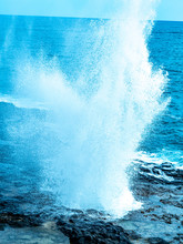 Lava Blowholes In Hawaii. The ...