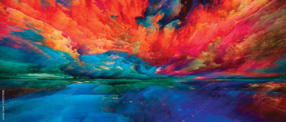 Fototapeta Painted Dreamland