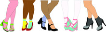 Vector Fashion Illustrations S...