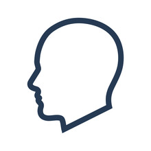 Man Head Icon