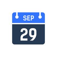 Calendar Date Icon - September...
