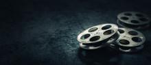 3D Rendering Of Movie Reels On...