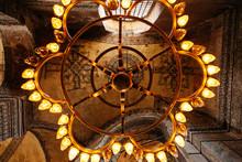 Interior Of Illuminated Hagia ...