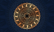Luxury Arabesque Mandala